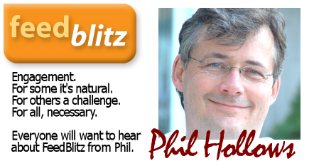 Phil Hollows of Feedblitz