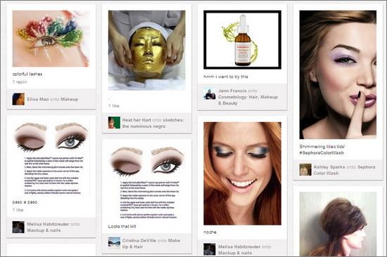 Sephora Pinterest Campaign